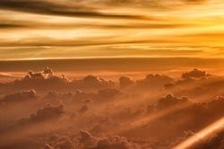 Sunrise over Bali