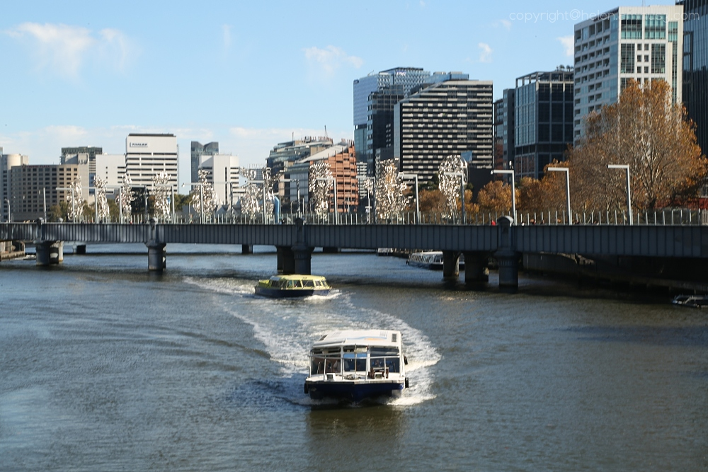 Ferries on the Yarra