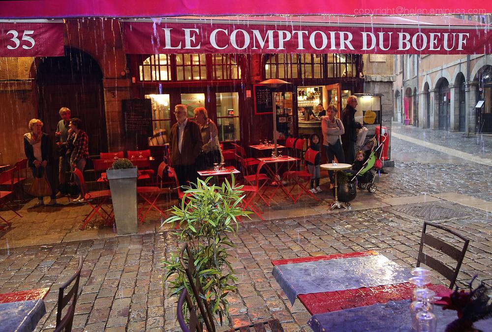 Rain in Lyon