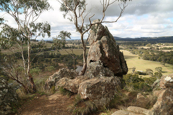 View NE - Hanging Rock