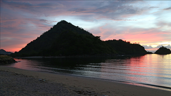 Sunset : Labuan Bajo