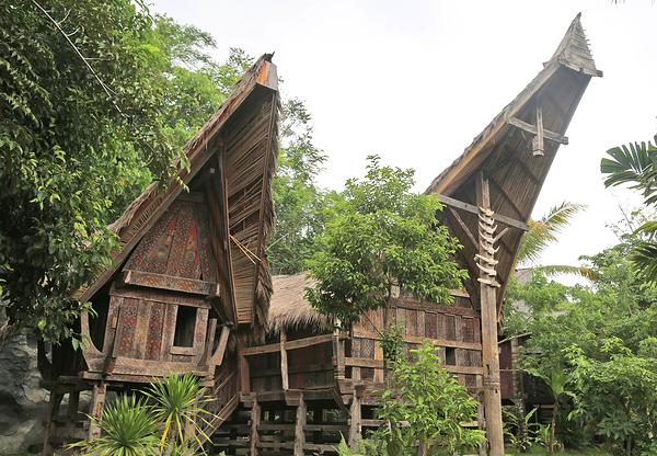 Torajan hut