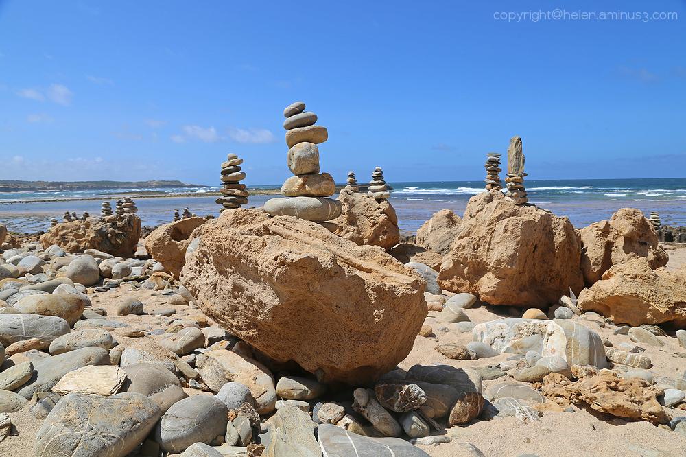 Rocks on rocks