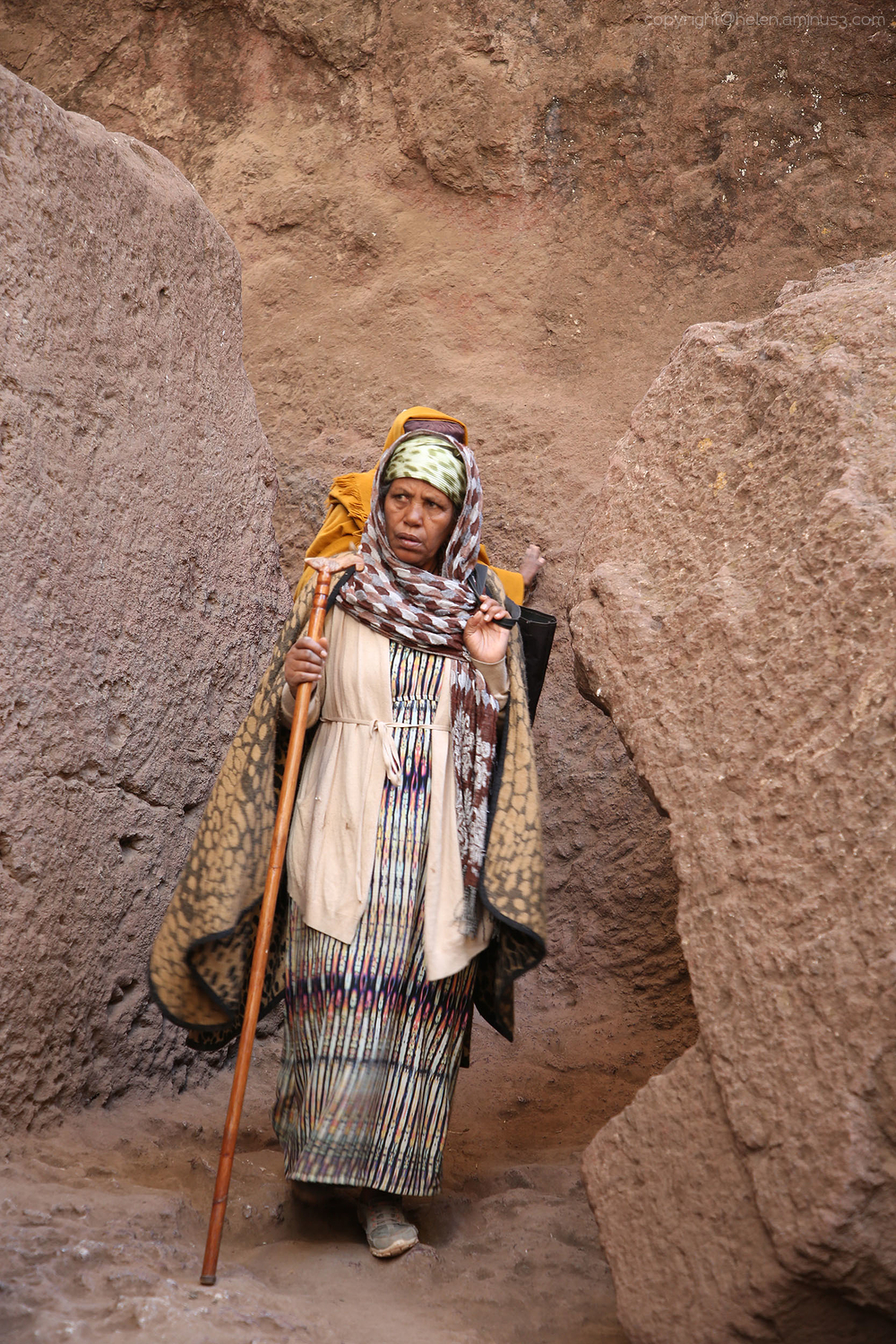 Worshipper, Lalibela