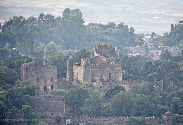Early morning : Gondar