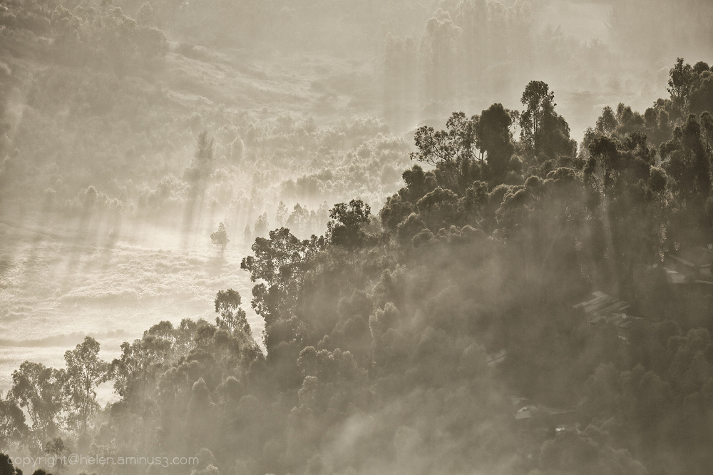 The mists of Gondar