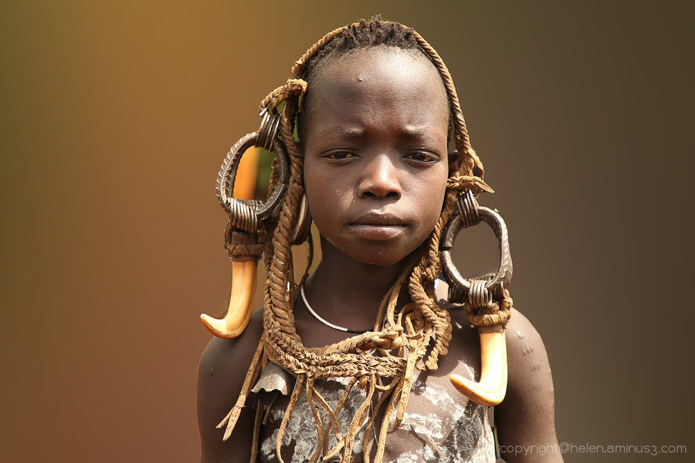 Young boy: Hamer tribe