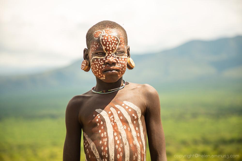 Boy: Hamer tribe