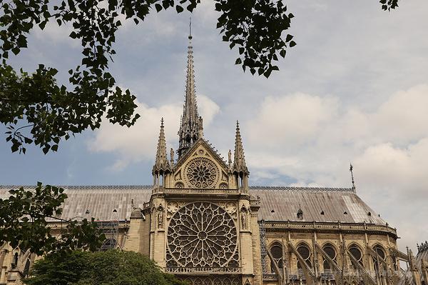 A glimpse of Notre Dame