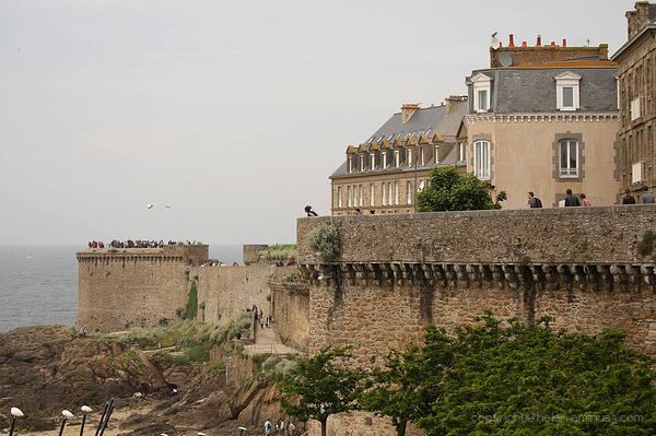Saint Malo ramparts