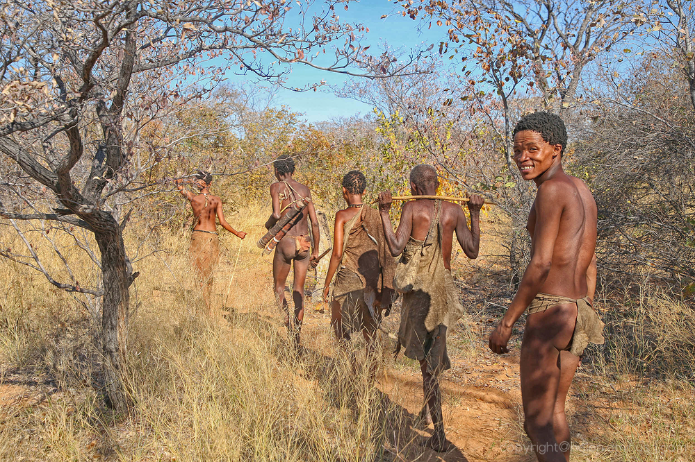 Namibia:  A visit to the Saan people 2