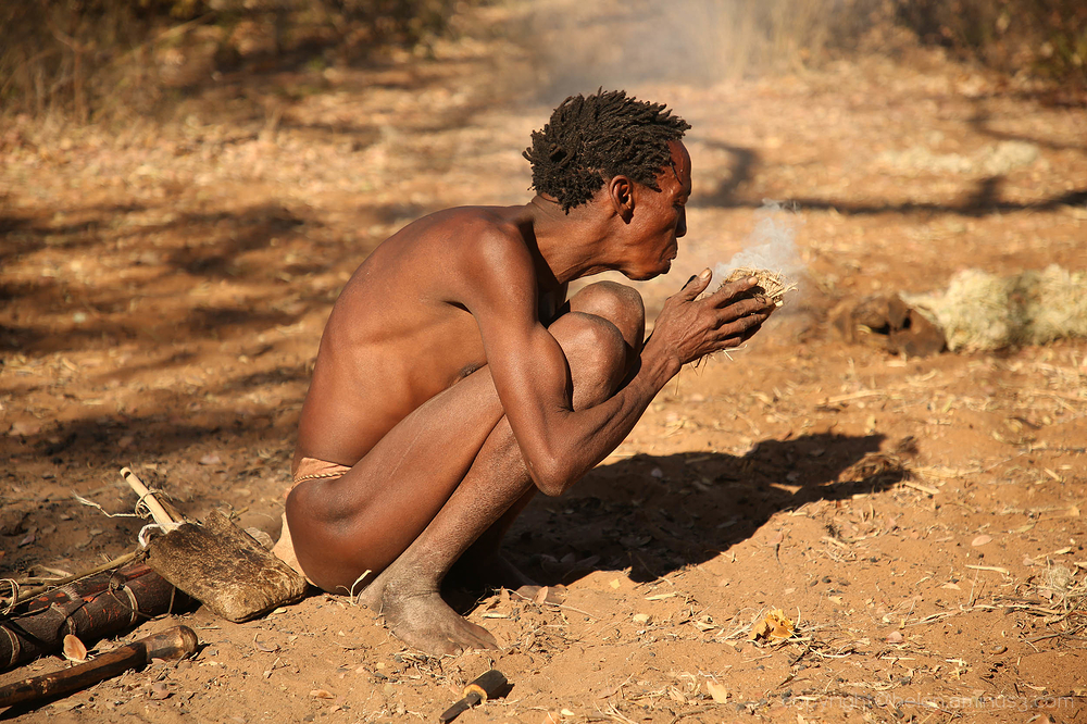 Namibia:  A visit to the Saan people 3