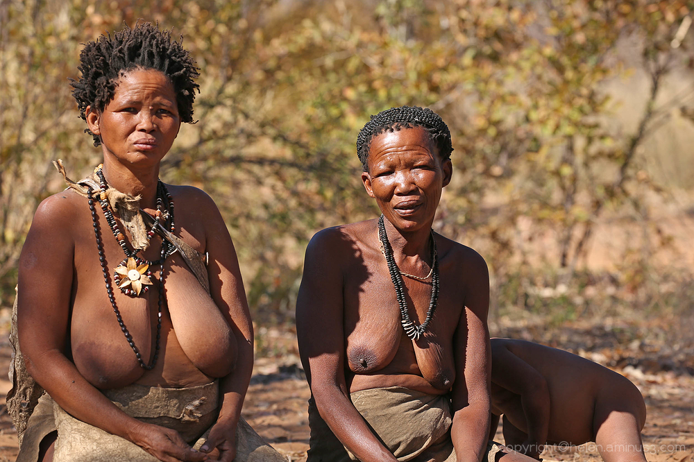 Namibia:  A visit to the Saan people 4