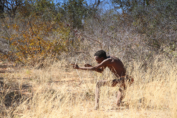 Namibia:  A visit to the Saan people 5
