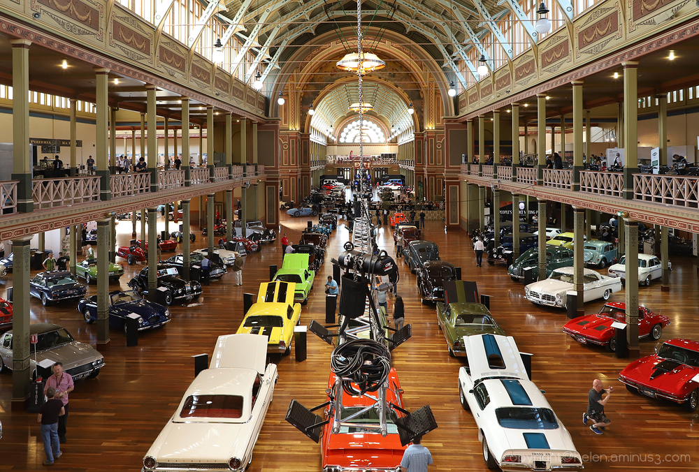 Motorclassica - Exhibition buildings