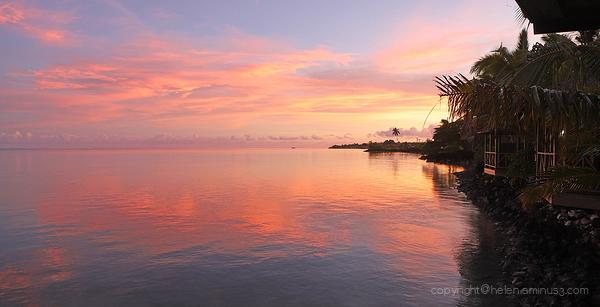 Samoan sunrise
