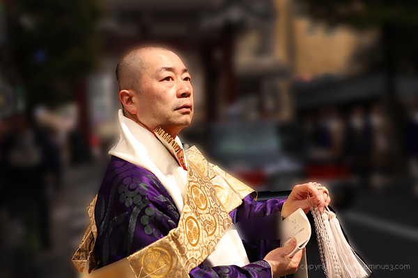 Priest - Zōjōji Temple
