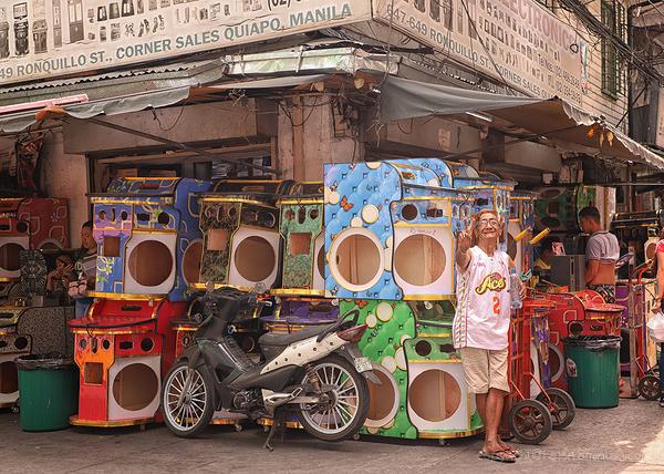 Quiapo street corner