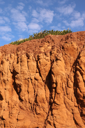 Red Earth .... blue sky