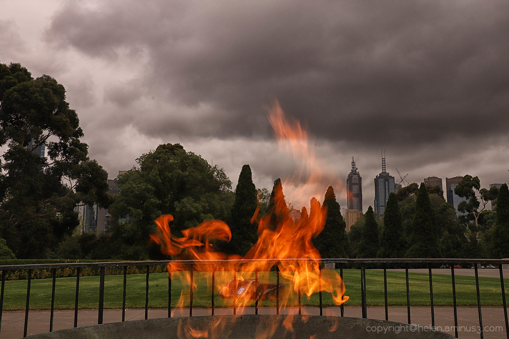 Melbourne's on fire!