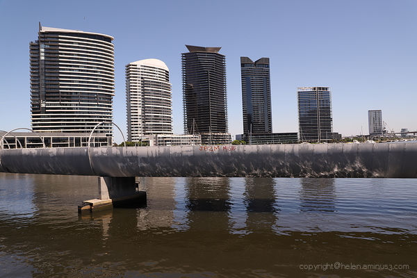 Along the Yarra again