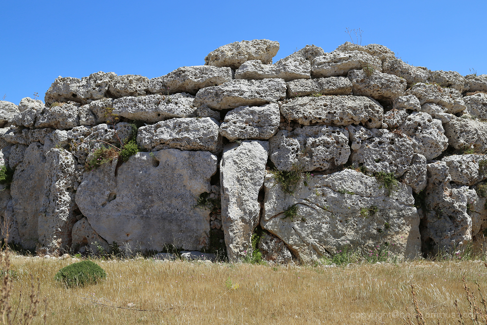 Megalithic buildings - Gozo