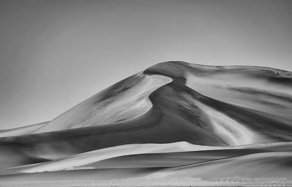 Contoured dune