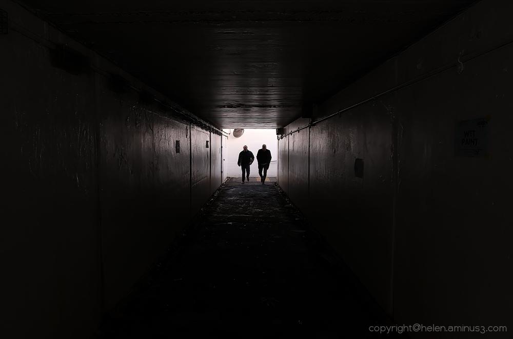 Strangers approach
