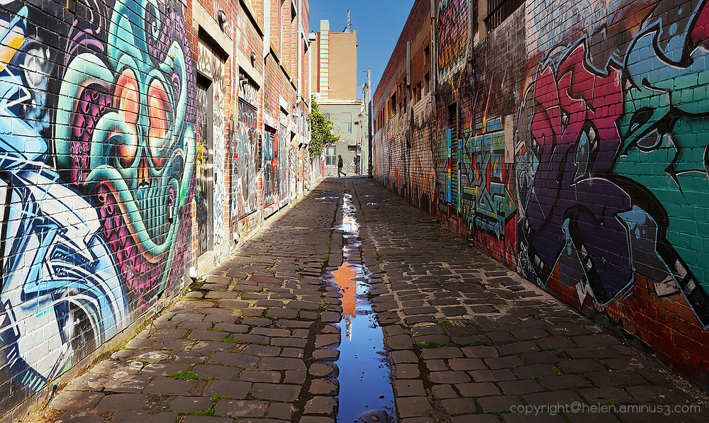 Coloured alley