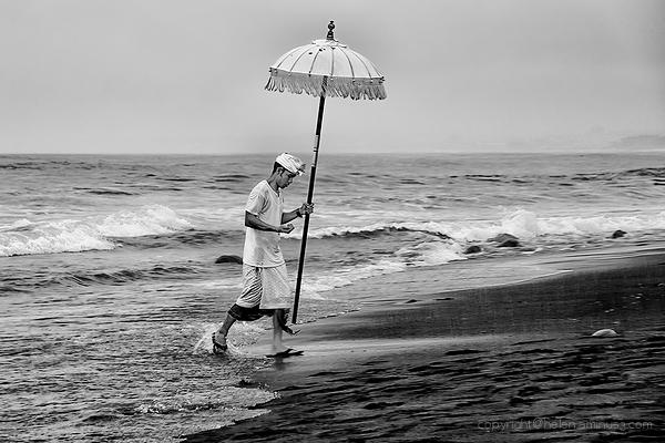 Beach blessing