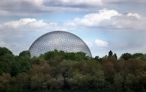 Biosphere dome in Montreal, Quebec.