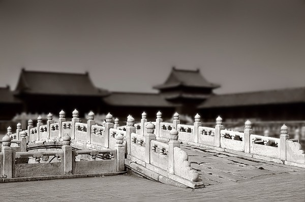 Forbidden city in Beijing, China.