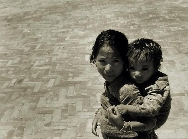 Children in Kathmandu, Nepal.