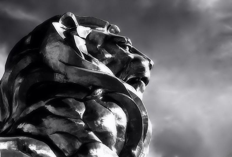 MGM lion.