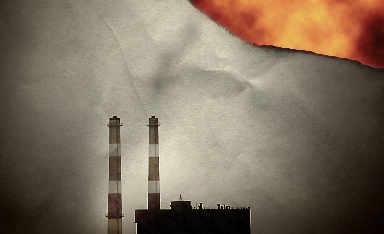 smoke stacks and global warming