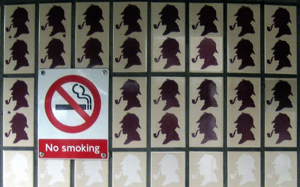 No smoking.