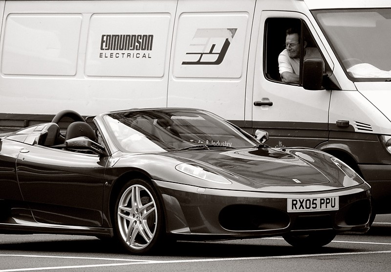 Ferrari envy.