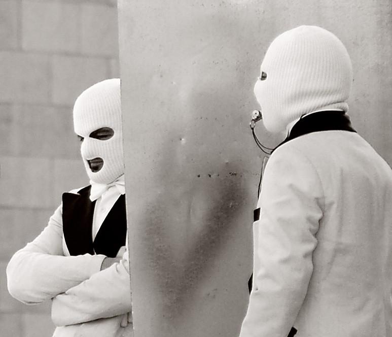 Men in White.