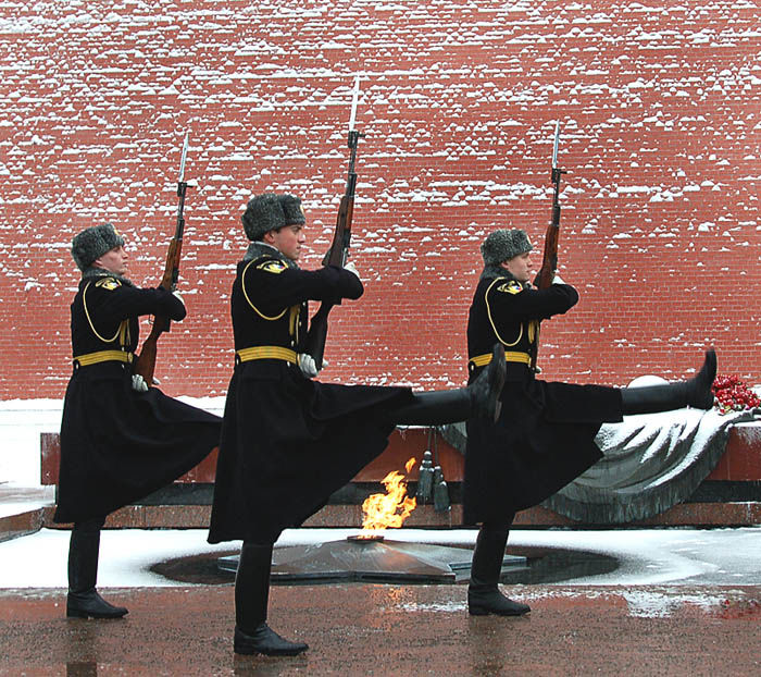 Changing of Kremlin Guards