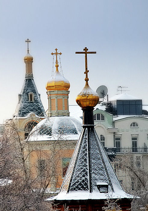 moscow russia architecture church cathedral dome