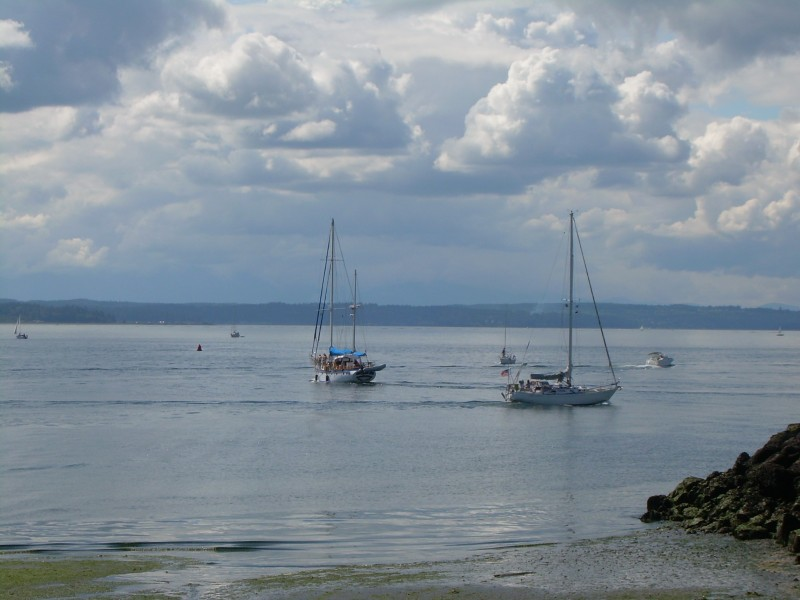 Boats in Puget Sound