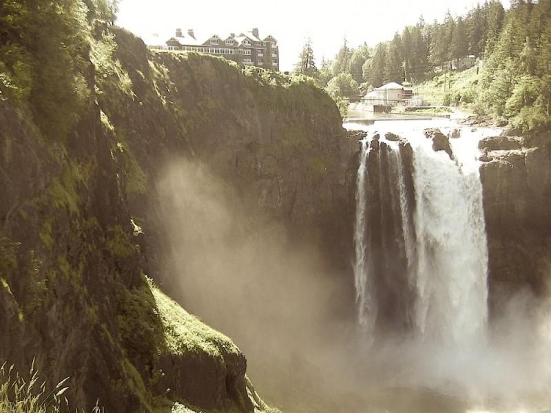 Snoqualmie Falls; Snoqualmie, Washington