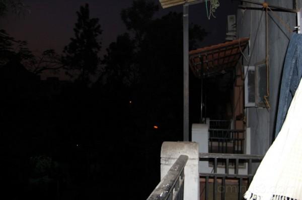 Balcony night