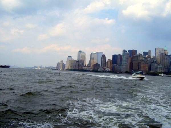 NY from Hudson