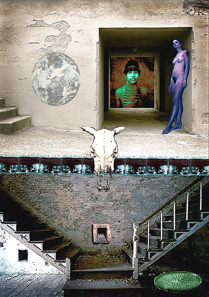 The Juxtaposed image, photo blogs, ron boyette
