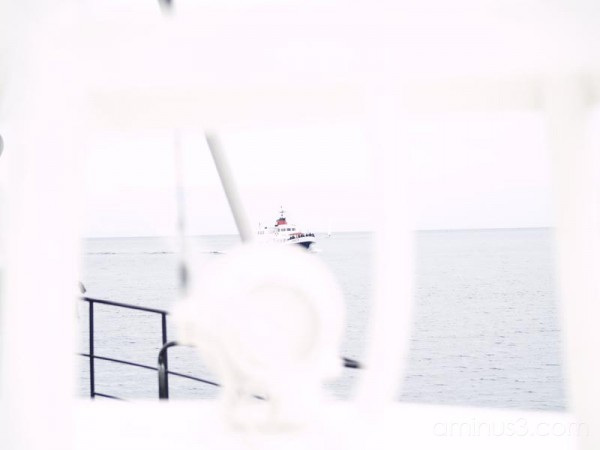 boat behind boat