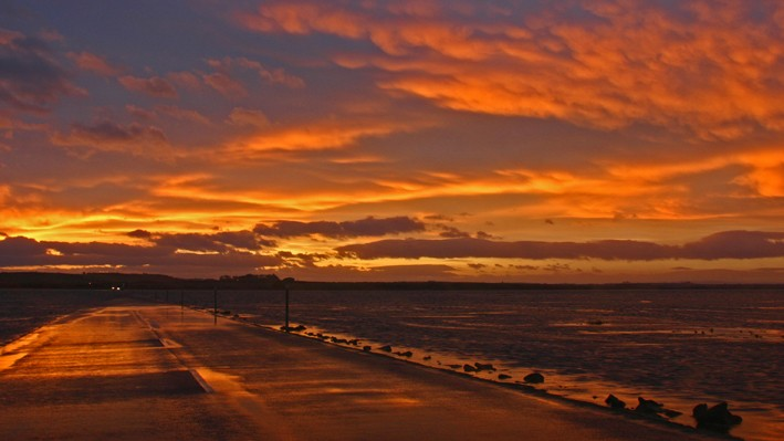 Holy Island Sunset
