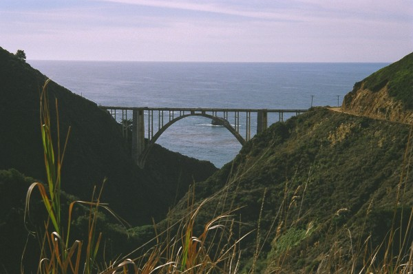 Bixbt Bridge Big Sur California