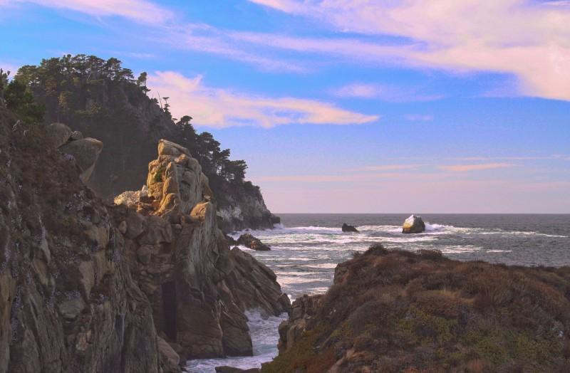 Fall afternoon at Pt Lobos California