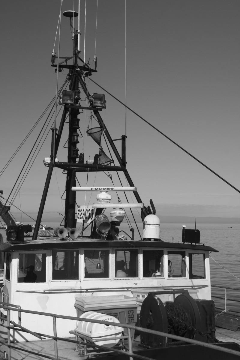 Fishing Boat at Monterey